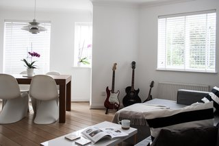 Two Architects Revive Their London Flat With Minimal Furnishings and a Fresh Dose of White