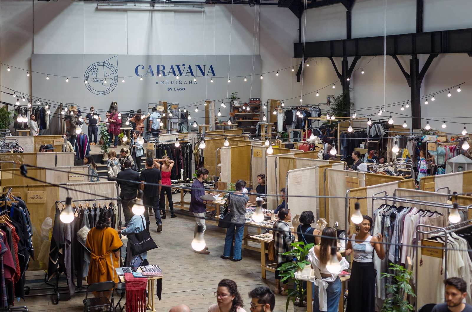 The third edition of Caravana Americana was held from March 24 to 26 on Dr. Claudio Bernard 111 in Mexico City. The industrial space was formerly home to a working tram terminal and still holds original turbines that were in working condition until the '50s. The floor below holds a printing press and hosts talks, exhibits, and other events.  Photo 2 of 16 in Caravana Americana Showcases the Passion of Latin America's Design Community
