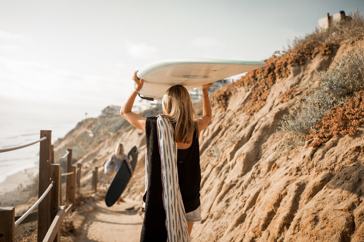 """According to the Harth brothers, opting in for Surfhouse Adventures will allow you to """"drop in as a guest and take off as a local.""""  Photo 11 of 11 in A New Modern Hotel in San Diego Offers Surfing Adventures and Local Hospitality"""