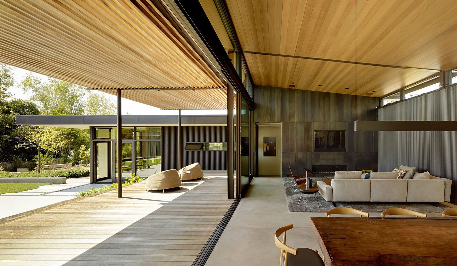 Composition from Mill Valley Courtyard Residence