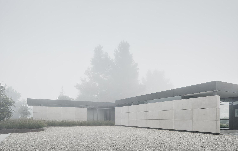 Carmel Valley House by Blue Sky Building System