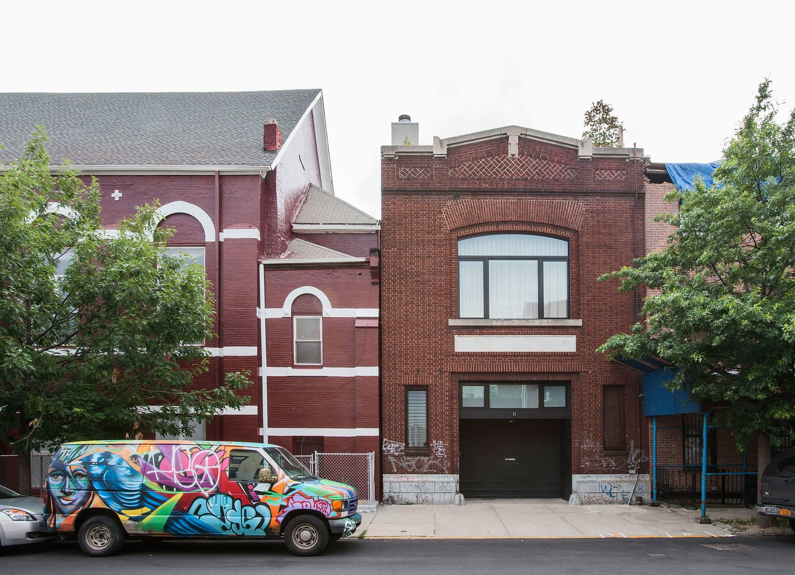 Photo 1 of 9 in A 19th Century Firehouse Becomes a Three-Story Modern Home