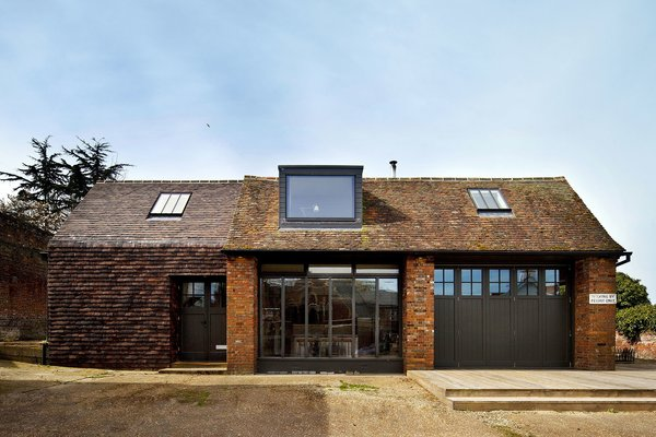 Exterior, Brick Siding Material, Gable RoofLine, House Building Type, and Shingles Roof Material  Photo 16 of 19 in 10 Dwell-Approved, New-Old Homes in the UK