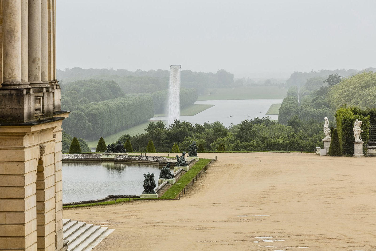 Photo 2 of 5 in Olafur Eliasson Gives Versailles a Surreal Aura