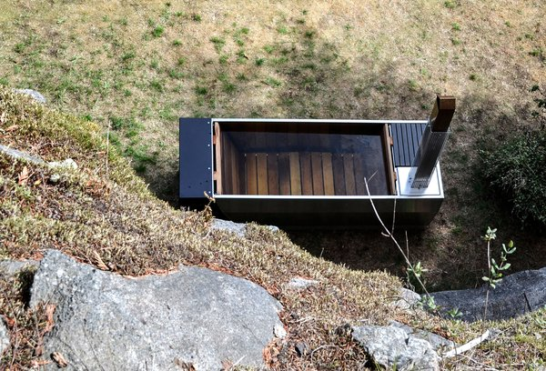 SOAK Outdoor Hot Tub by Ox and Monkey