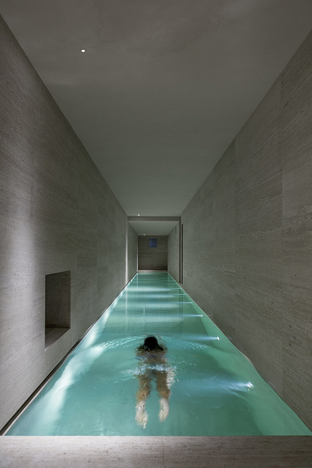 Outdoor and Lap Pools, Tubs, Shower  Photos from A Nocturnal Marvel in Montalcino