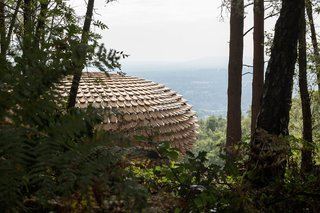 An Organic Cedar Wood Pavilion Filled With Meaning - Photo 1 of 4 -