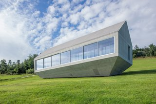 A Striking Modern House Built In A Pastoral Landscape - Photo 1 of 7 -