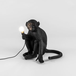 Seletti Monkey Lamps Bring a Slice of Wilderness to Your Outdoors