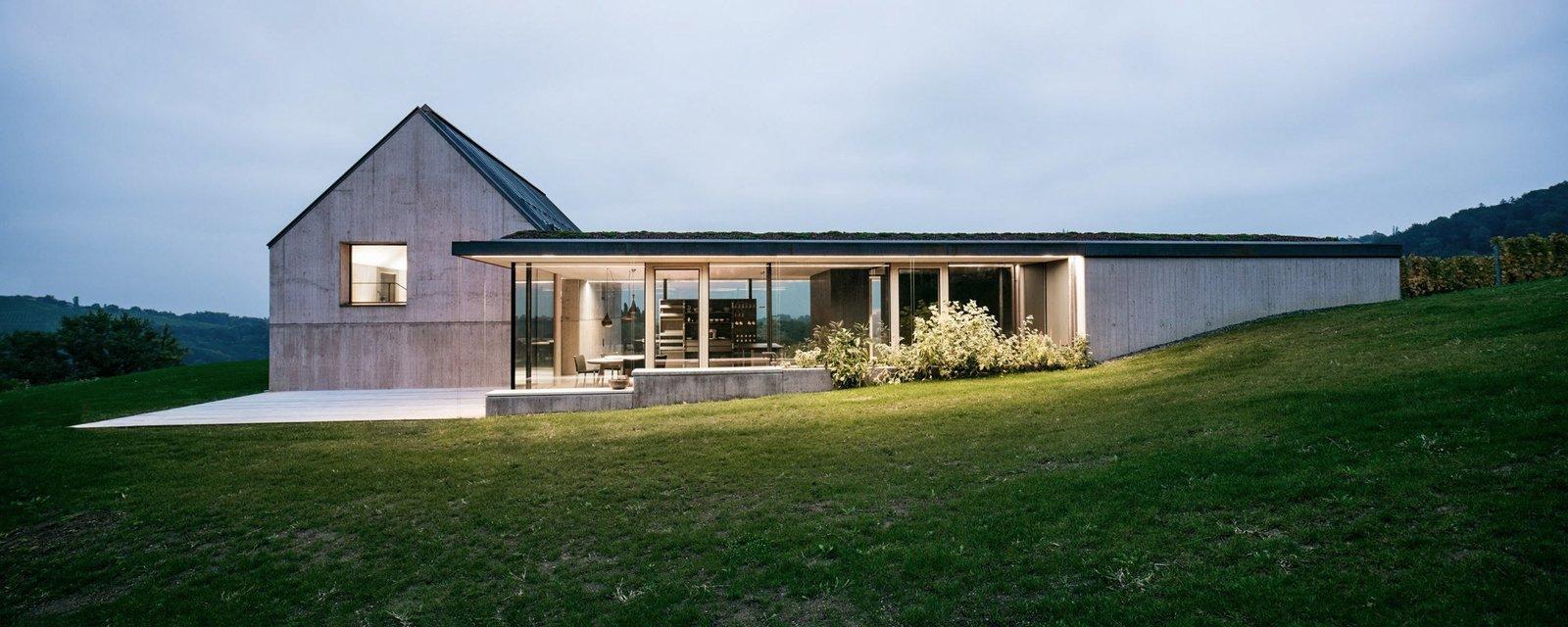 A Former Wine Press House Becomes a Modern Vineyard Home