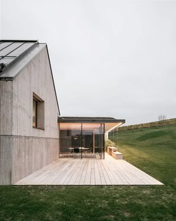A Former Wine Press House Becomes a Modern Vineyard Home - Photo 3 of 14 -