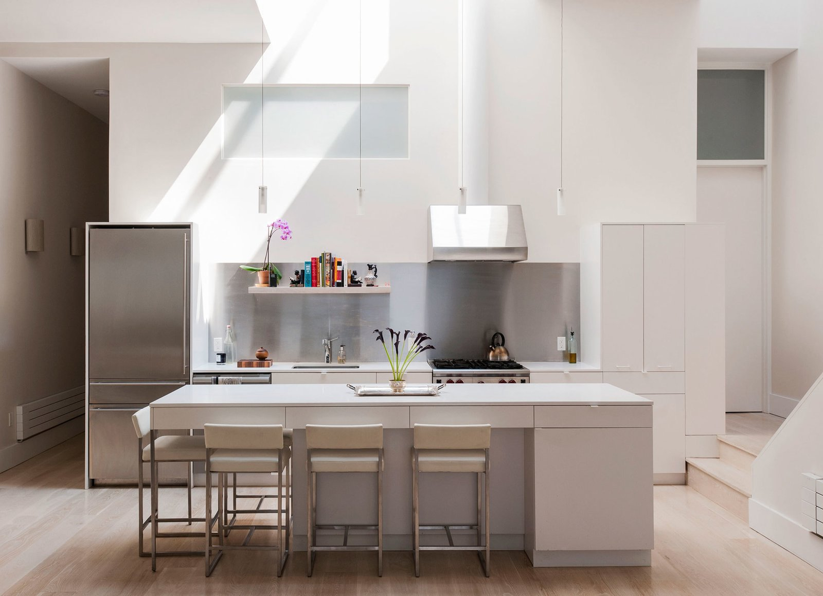 Photo 2 of 9 in A 19th Century Firehouse Becomes a Three-Story Modern Home