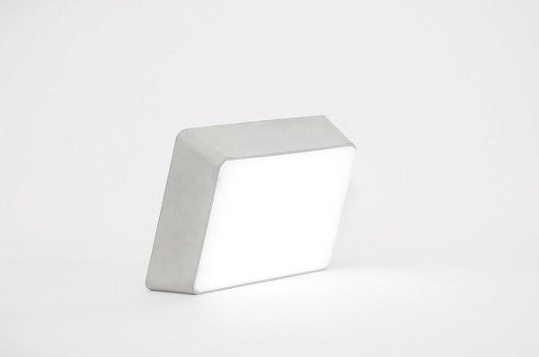 Hyfen Concrete Brick Lamp