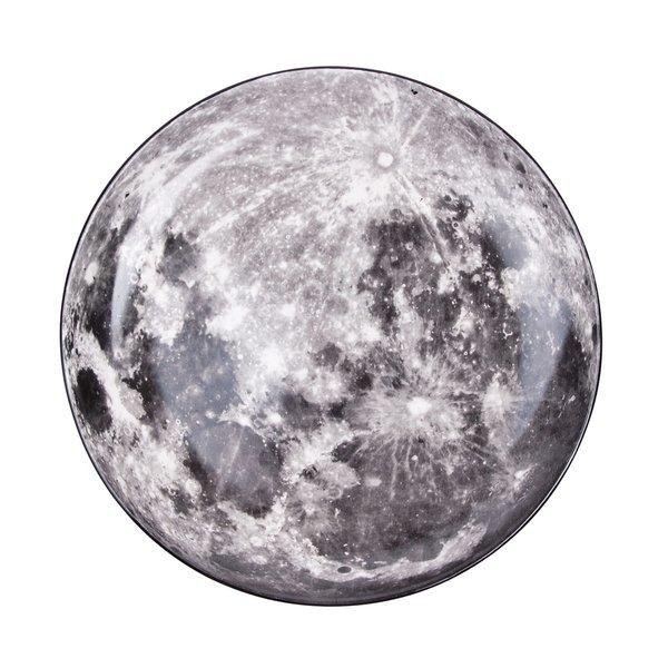 Diesel by Seletti Cosmic Dinner Plate - Moon