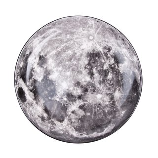 Diesel by Seletti Cosmic Dinner Plate - Moon