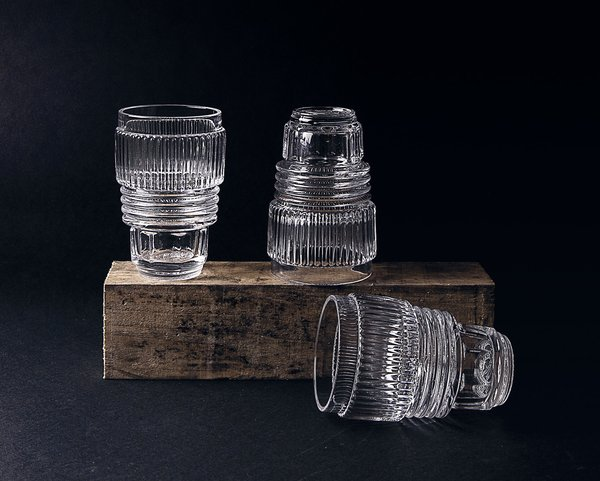 Diesel by Seletti Machine Collection - Glassware, Set of 3