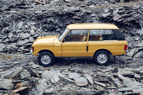 Photo 4 of 7 in 1978 Range Rover Classic Comes To The Reborn Series