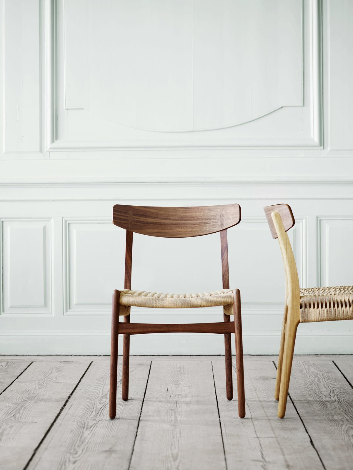 Photo 5 of 7 in CH23 And CH22 Chairs By Hans J. Wegner