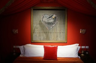 Banksy's The Walled Off Hotel - Photo 2 of 5 -