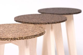Zostera Stool By Carolin Pertsch - Photo 1 of 5 -