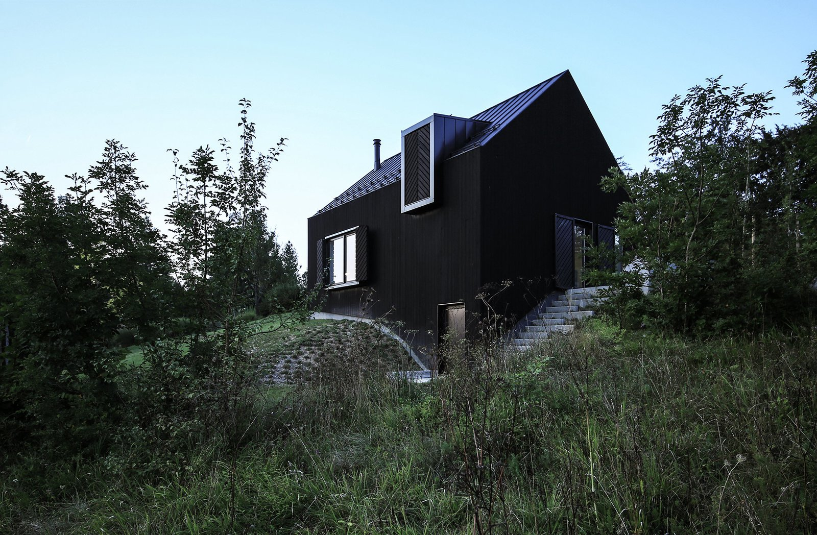 Exterior, House Building Type, and Wood Siding Material  Photo 3 of 12 in Gorski Kotar House