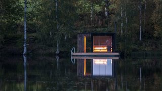 A Floating Sauna In Sweden - Photo 1 of 7 -