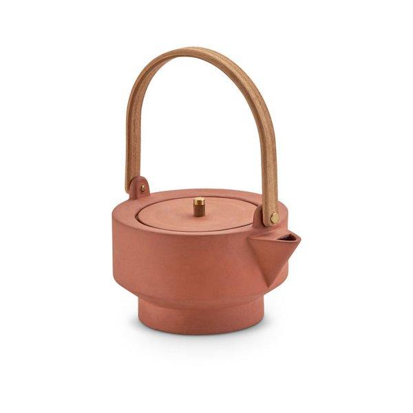 Skagerak Edge Terracotta Teapot