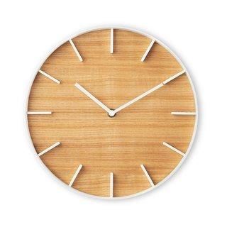 Rin Wall Clock, Natural