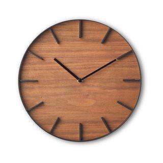 Rin Wall Clock, Brown