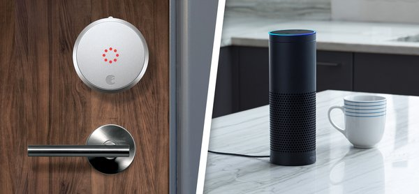 August adds support for Amazon Alexa