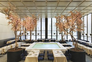 Wright Auctions Off Items from the Seagram Building's Four Seasons