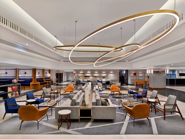 The Largest Hotel in Paris Gets a Midcentury Modern Update