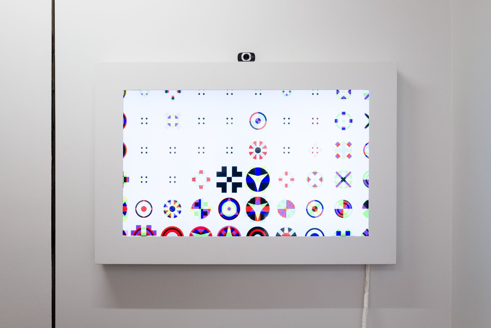 Karel Martens, <i>Icon Viewer</i>, 2015. Software application. Edition of 5.  Photo 4 of 5 in Dutch Graphic Design Master Karel Martens Opens His First Solo U.S. Exhibition