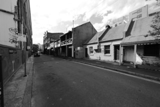 """Before:<span style=""""line-height: 1.8;"""">Now a vibrant laneway, Kensington Street had fallen into disrepair since its 19th-century heyday.</span>"""