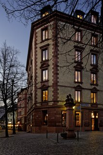 Inspired by the Sharing Economy, This Frankfurt Hotel Feels Just Like Home - Photo 7 of 7 - Franken Architekten renovated the historic Wilhelminian building in the Alt Sachsenhausen district.