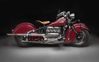 1941 Indian Model 441, Collection of Duane Vanfleet