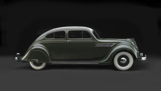 1935 Chrysler Imperial Model C-2 Airflow, Collection of John and Lynn Heimerl, Suffolk, Virginia.