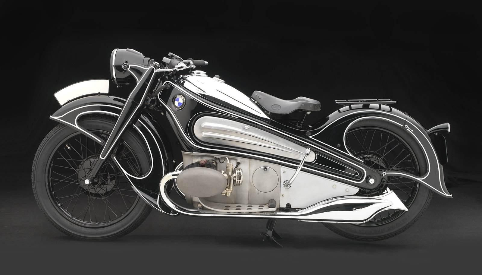 1934 BMW R7 Concept Motorcycle, BMW Classic Collection  Photo 9 of 15 in Examining the Architecture of the Art Deco Automobile