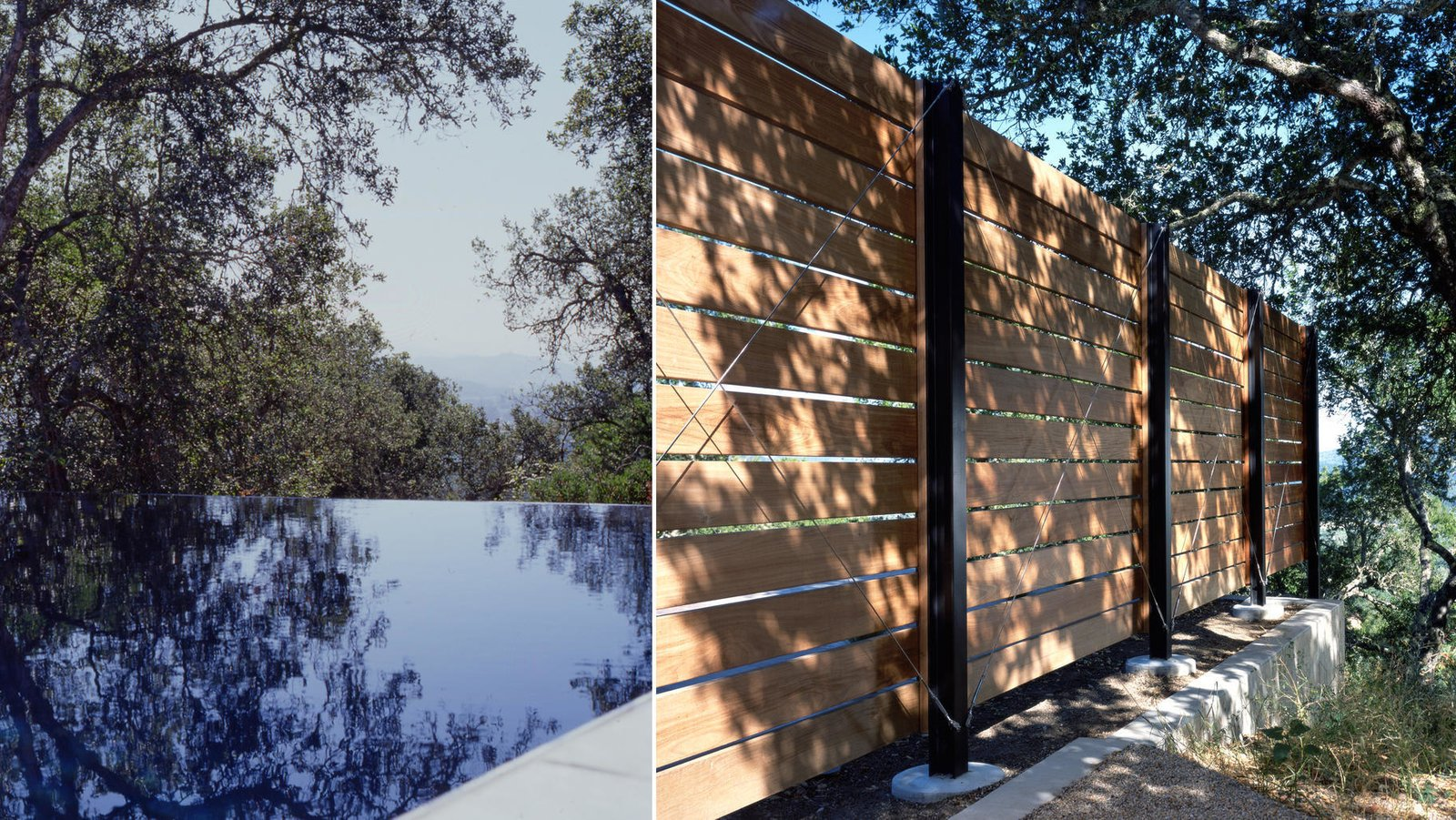 30+ Best Modern Fences by William Lamb from Barnes Pool House