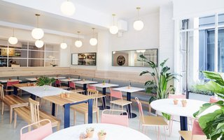 A Healthy Manhattan Eatery Plants a Pink Flag in Boston