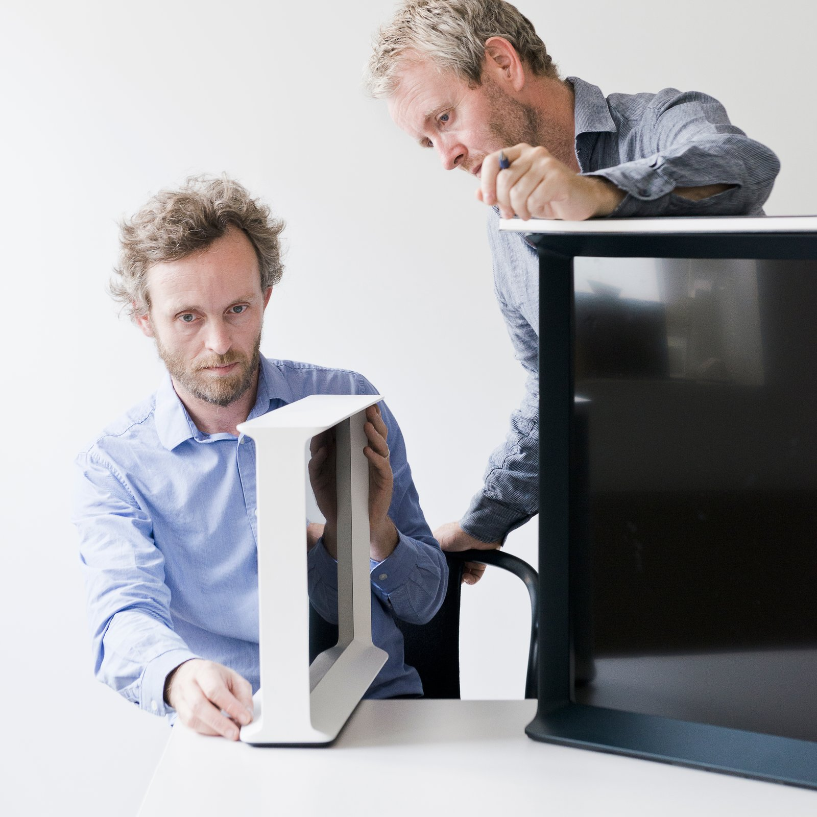 Photo 1 of 4 in The Bouroullec Brothers Turn Back the Dial to When TVs Were Furniture