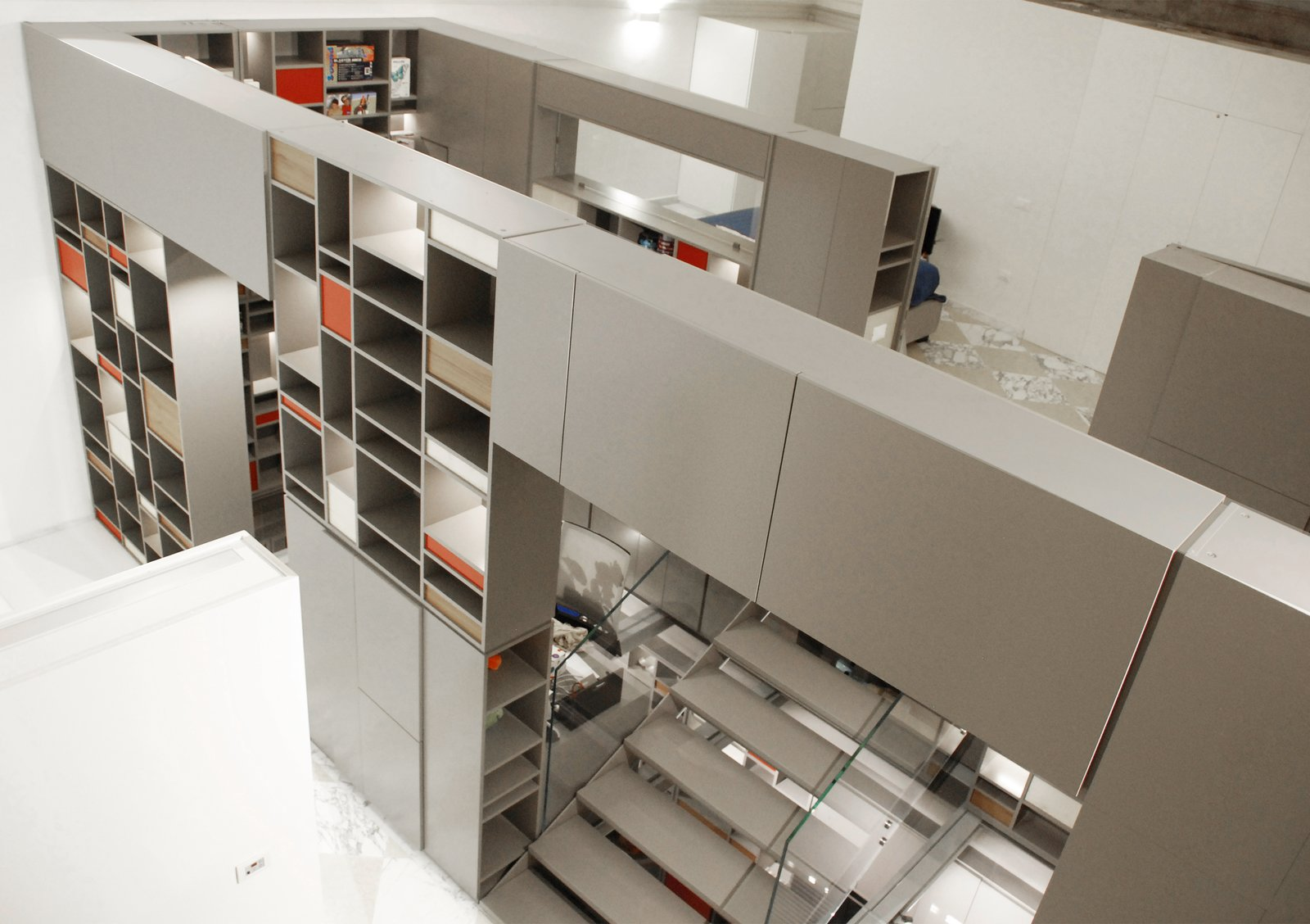 Photo 1 of 4 in Life at a Florentine Loft Revolves Around an  All-in-One Storage Marvel