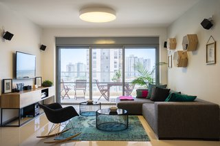 A Riotous Makeover for a Generic  High-Rise Home
