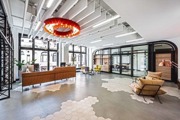 This Tech Office Is a Brilliant Mishmash of Styles