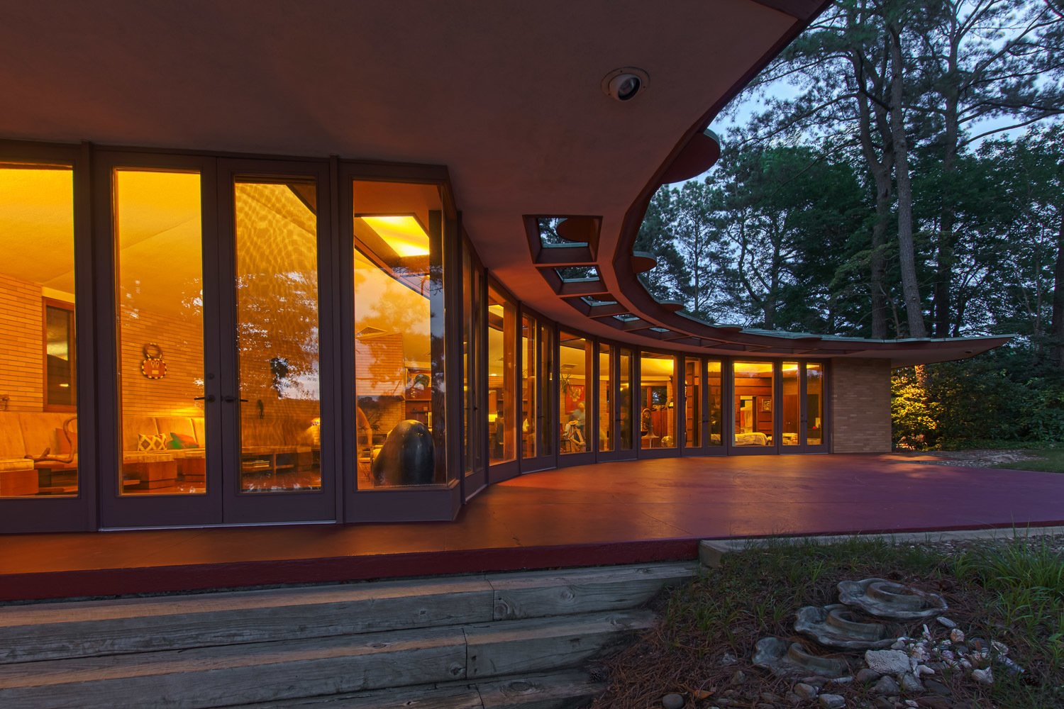Photo 1 of 7 in You Can Own One of Frank Lloyd Wright's Final Homes for $2.75 Million