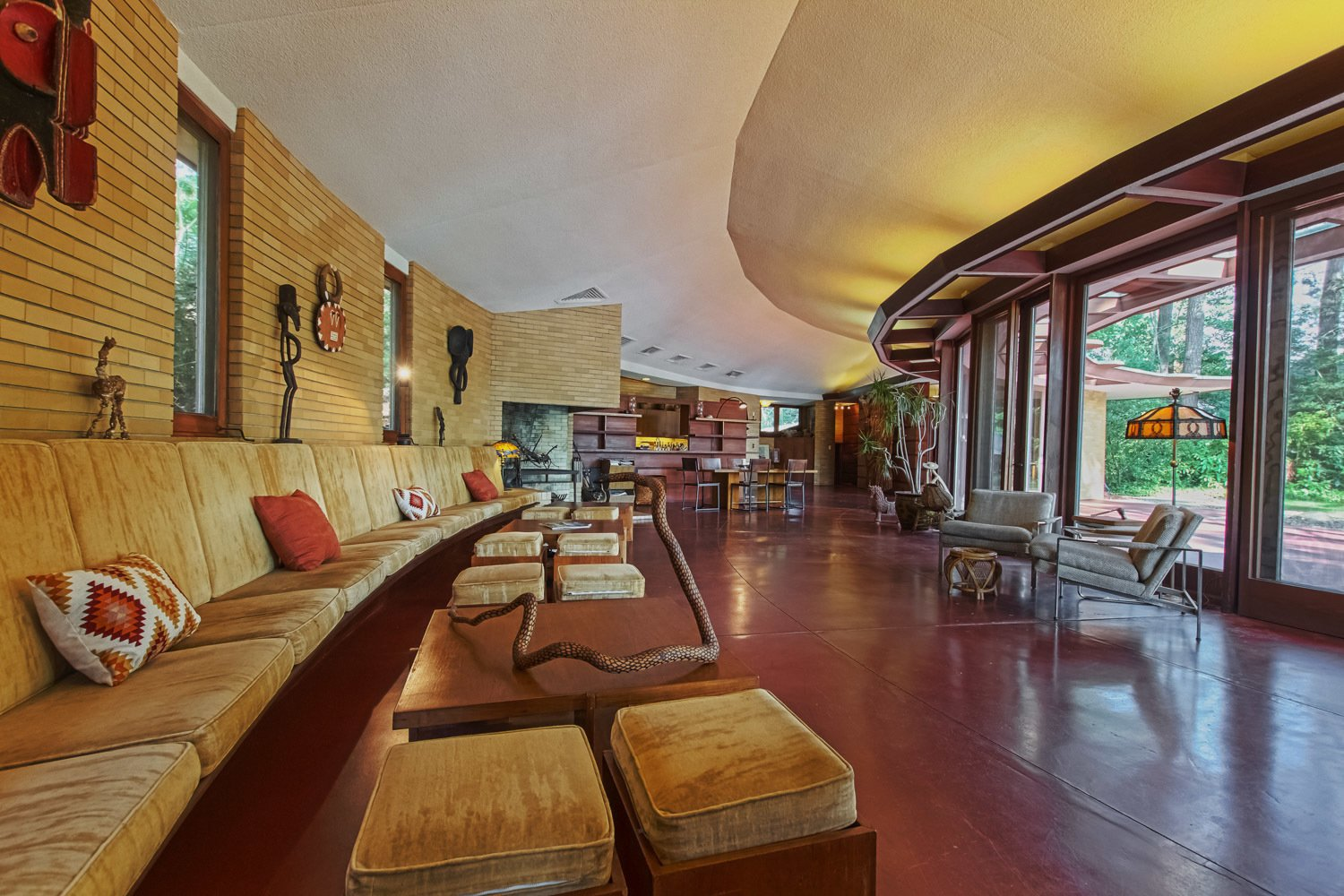 Photo 3 of 7 in You Can Own One of Frank Lloyd Wright's Final Homes for $2.75 Million
