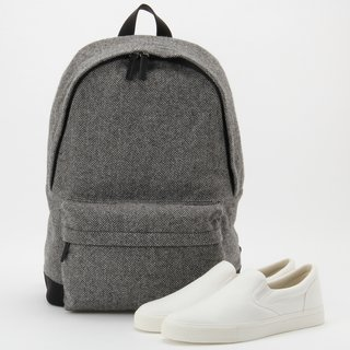 Every Fiber of Muji's New Clothing and Apparel Line Can Be Yours for $80 or Less - Photo 1 of 6 - Rucksack, $79