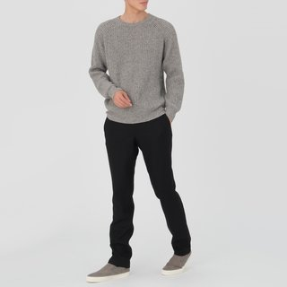 Every Fiber of Muji's New Clothing and Apparel Line Can Be Yours for $80 or Less - Photo 3 of 6 - Men's Rib Knitted Pullover, $59
