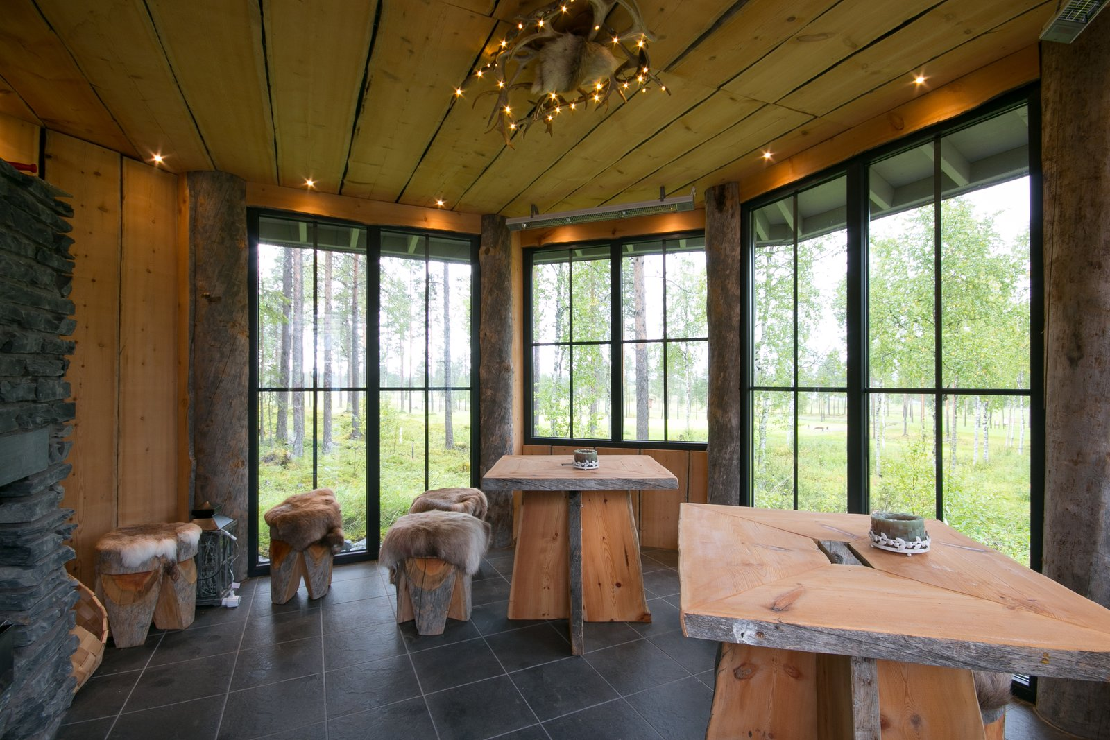 Photo 1 of 8 in Winter Is Coming. Why Not Buy This Log Cabin–Style Villa in Finland?