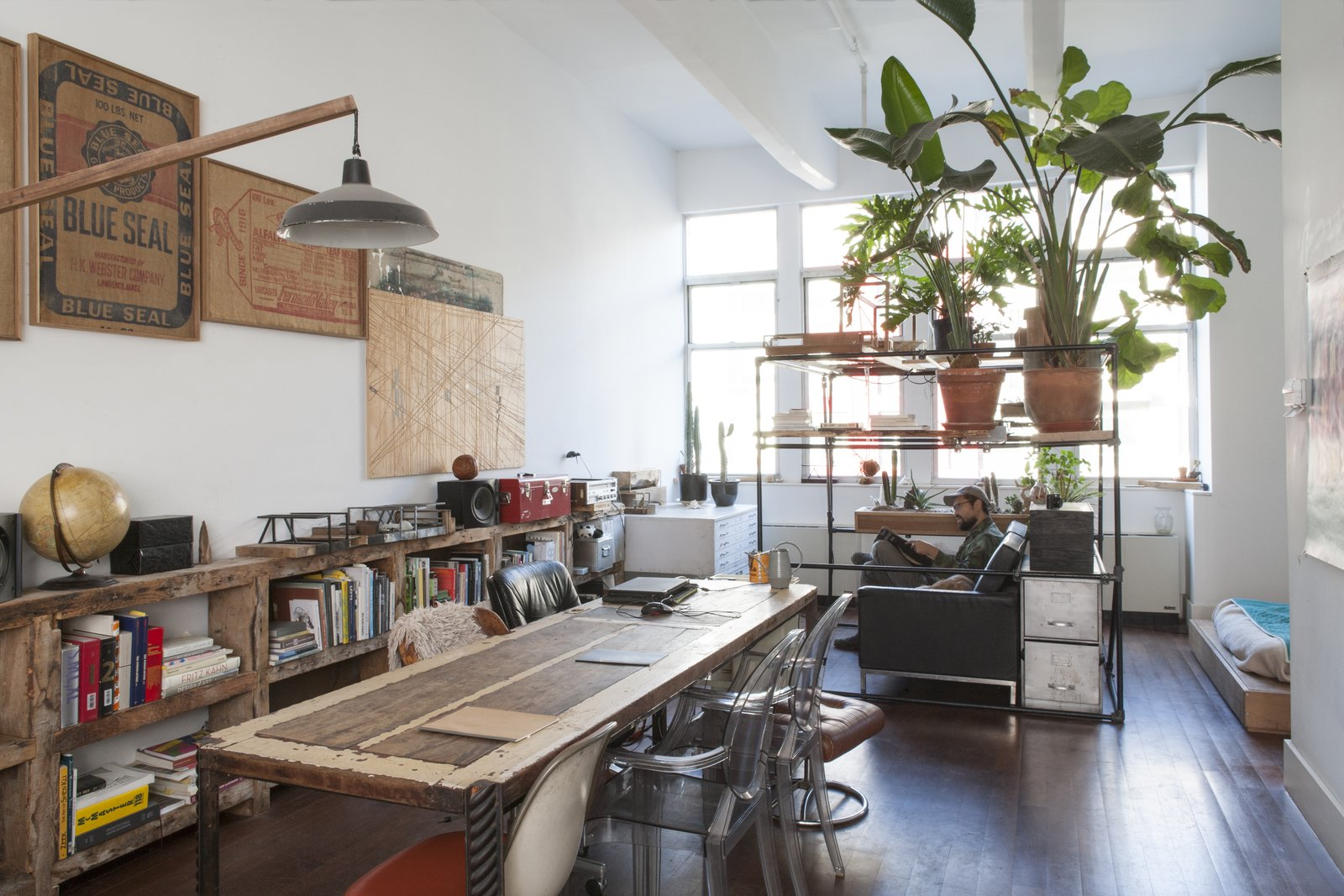 Photo 1 of 5 in Huy Bui's Brooklyn Loft Is Like a Self-Contained Jungle